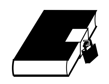 Commons Locked Book Icon