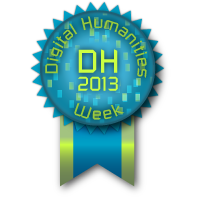 Digital Humanities Week 2013 3 max