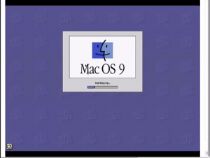 bwFLA showing MacOS 9 emulator