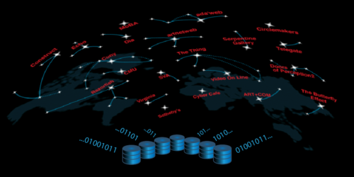 Web archiving illustration