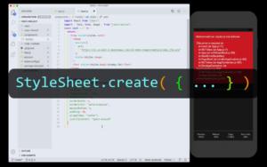 React Native tutorial screenshot